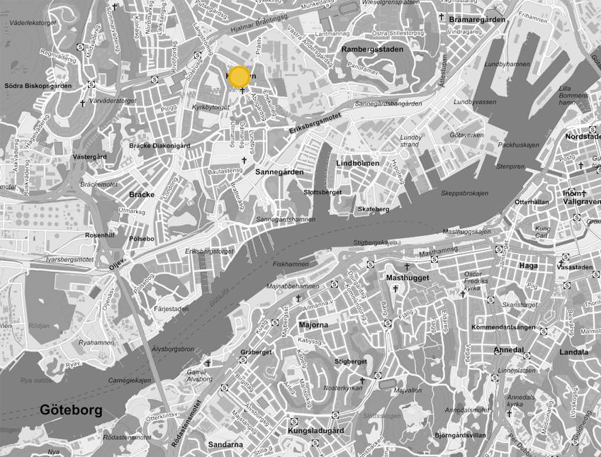 Putsegarden_karta
