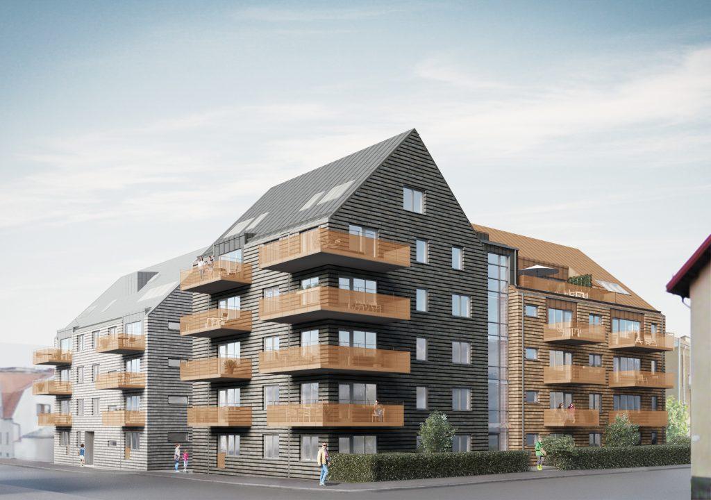 Krukmakaren – 40 Bostadsrätter på Malmgatan/Fredsgatan i centrala Varberg