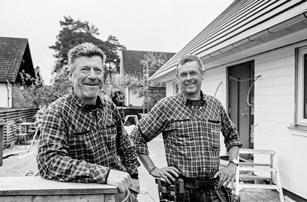 Renovering och ombyggnation av hus