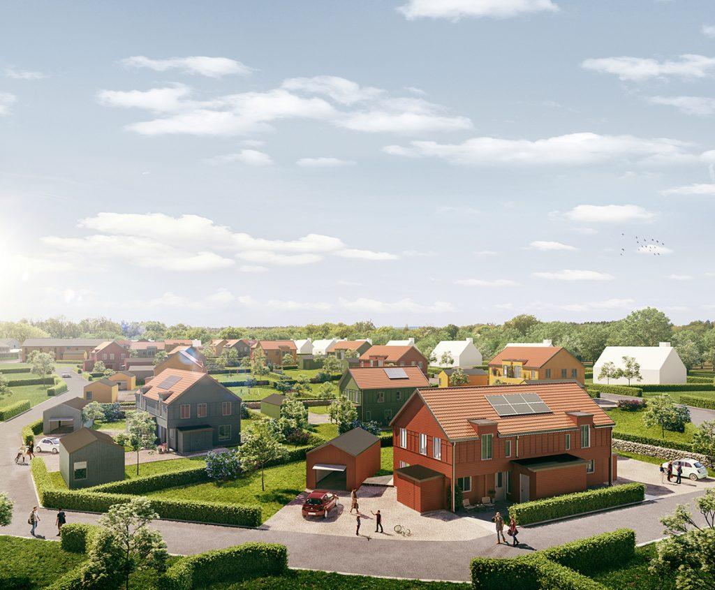 Projektutveckling av fastigheter