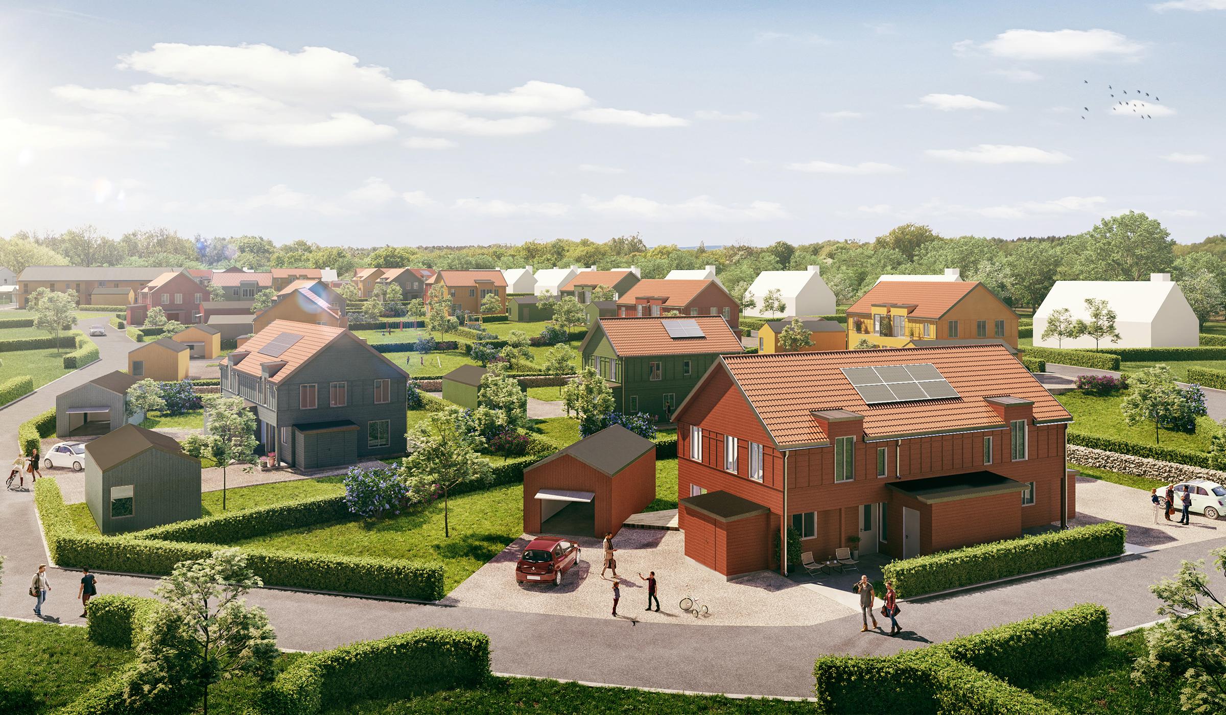 Villor, bostadsrätter och parhus till försäljning i Varberg